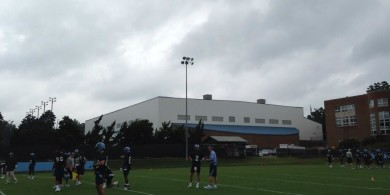 north-carolina-tar-heels-drone-football-camera